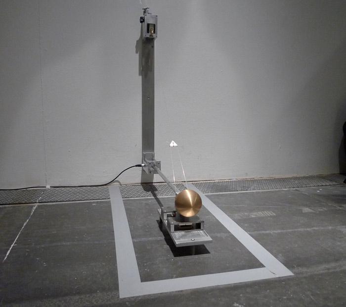 The seismometer in Kerstin Ergenzingers work Rotes Rauschen