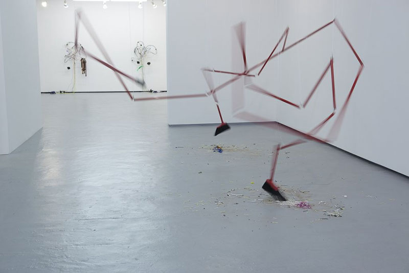 Sweeping Spirals by Jean-Pierre Gauthier from a solo exhibition in New York, 2010