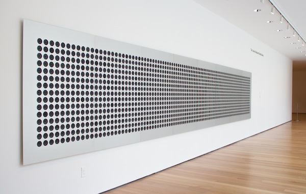 Microtonal Wall by Tristan Perich at MoMA