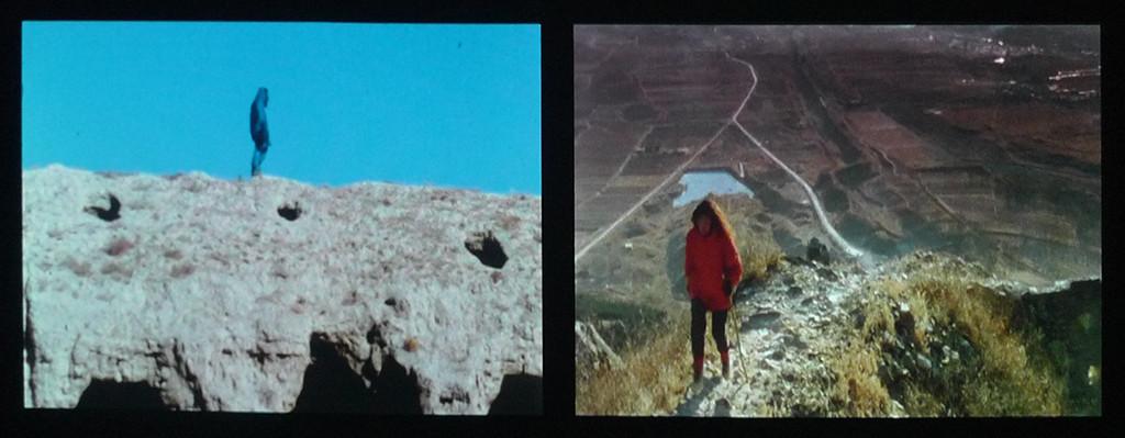 The Lovers, Great Wall Walk by Marina Abramovic/Ulay
